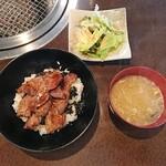 Ajiの極 - カルビ丼(ランチ)980円