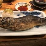 夜ノ焼魚 ちょーちょむすび - 料理写真:鰯焼き