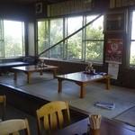 加月食堂 - 食べ終わる頃はお客さんもいなくなり。
