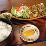 七子茶屋 - 料理写真:豚の生姜焼き定食