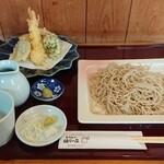 祖谷の庄 - 料理写真:天婦羅もりそば 1480円