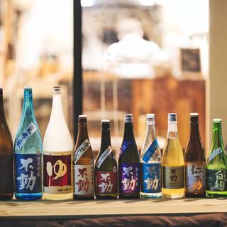 こだわり抜いた至極の日本酒をお楽しみいただけます。