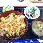 14108030 - 上天丼(1000円)。