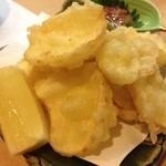 旬菜 ふじ井 - ユリネの天ぷら