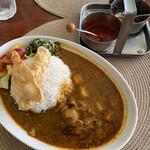 カフェパハナ - チキンと野菜のカリーライス