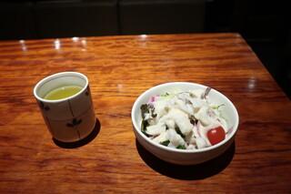 極ダイニング清水 - サラダ
