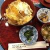 カタクリの花 - 料理写真:△きのこカツ重900円