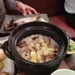 141090069 - 松茸と栗の土鍋ご飯 2948円