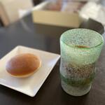千慕里庵 - 料理写真:稲嶺盛吉氏の琉球グラスに入れたアイスコーヒーと合います♡渋い♡