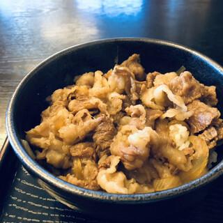 美食や やま信 - 料理写真:牛丼