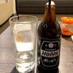 梅田食堂 - ホッピーセット(黒) ¥500
