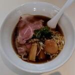 北浦中華そば いっかん - 煮干しそばスペシャル(大盛)