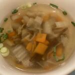 さわやか - 昔流行った根菜スープみたいな味