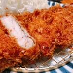 とんかつ 田 - ロースカツ定食