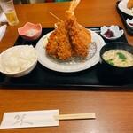お食事処 大原 - 料理写真:ミックスフライ定食