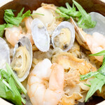絹の里 - 料理写真:洋風釜めし