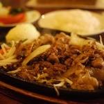 祭り屋 - 和牛バラ肉のジュウジュウ焼き定食