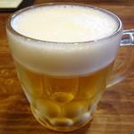 くらの坊 - 生ビール
