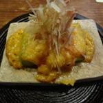 くらの坊 - 小皿 アスパラガスの味噌焼