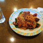 ドン・キホーテ - 料理写真:ランチのナポリタン¥600
