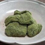 藤菜美 - お皿に盛り付け
