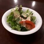 味楽亭 - セットのサラダ