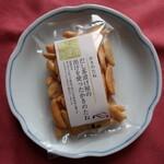 日本の御馳走 えん - だし茶漬け屋の出汁を使ったかきのたね 194円