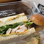 ble - まるでサラダを食べているようなサンドイッチ