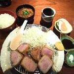 Buta inagaki - 上ヒレかつ定食 1,980円(税込)