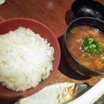 Buta inagaki - ごはん 豚汁