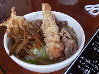 天下GO!麺 - ぜいたくうどん ¥500