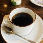 茶房 天井棧敷 - セットのコーヒー