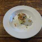 eredge★Cafe - 料理写真:秋冬限定サツマイモとじゃがいものポテトサラダ