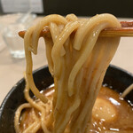 tsukemengonokamiseisakujo - 海老つけ麺味玉