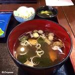 鈴徳 - 鮭のすまし汁