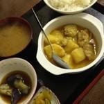 オーロラ - チキンカレー定食