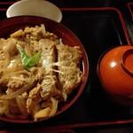 蕎傳 - カツ丼