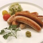 加藤牛肉店シブツウ - 【加藤牛肉店】特製ミックスウインナー