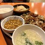 141123240 - 麻婆豆腐もスープも美味い