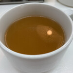 ボーイズカレー - しょうが焼き850円につくスープ