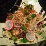 焼鶏あきら - 鶏たたきポン酢