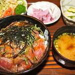 レストラン・ストローハット - ステーキ丼定食 ¥1500