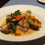 14113213 - ランチコースA 1400円 魚料理