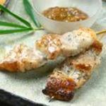 結庵 - 琉球豚の串焼 辛味味噌とともに