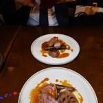 ニド・カフェ - 山形産米澤豚のロティ