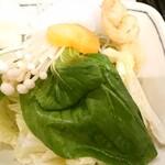 Ginzasyabutsuu - 食べ放題(野菜)