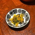 麺屋 我論 - 味変(青唐辛子柑橘)