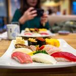 風月寿司 - 上握り