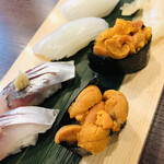 すし博 - シメのお寿司