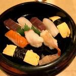 勝美寿司 - '20/11/19 にぎり大盛り(税込1,000円)